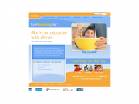 Screen shot - Born Learning website