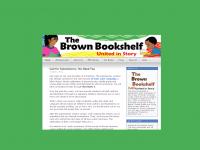 The Brown Bookshelf website screen shot