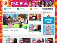 CBC Kids screen shot