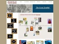 Deborah Hopkinson webpage screen shot