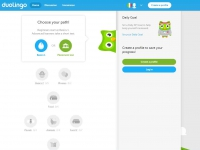 Duo-Lingo screen shot
