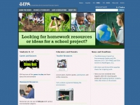EPA Environmental Kids Club screen shot