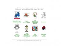 screen shot - Eric Carle website