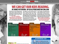 James Patterson's Read Kiddo Read screen shot