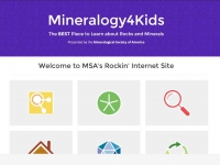 Screen shot: Mineralogy4Kids