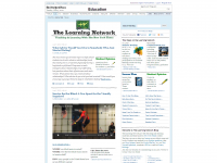 The Learning Network: Teaching and Learning with the New York Times screen shot