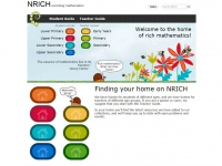 NRICH - screen shot
