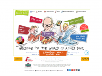Roald Dahl website