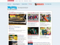 Scholastic News Online screen shot
