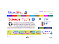 Science Kids website screen shot