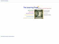 The Learning Page screen shot