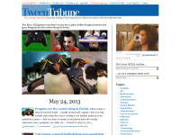 Screen shot - Tween Tribune site